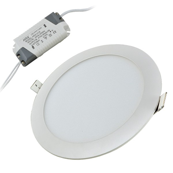 Ceiling Light Is Flickering: LED Vgradna Svetilka 9W, Okrogla, Zatemnilna